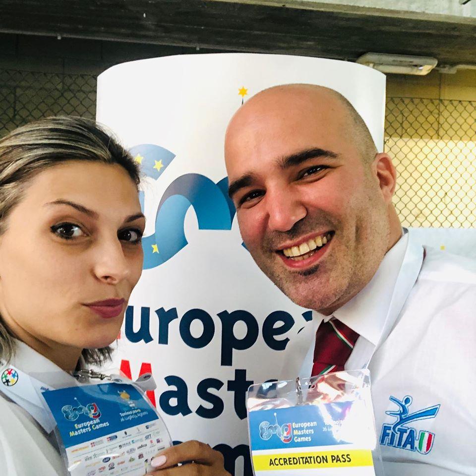 Arbitri all'European Master Games